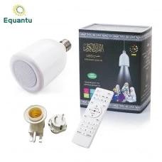 مكبر الصوت للقرآن بمصابيح LED مع جهاز تحكم عن بُعد بلمبة White