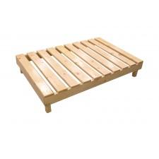 طاولة تقديم خدمة خشبية شرائح 120*80*10 سم
