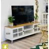 طاولة تلفاز خشب مقاس 145*40*47 سم