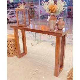 طاولة مدخل خشبي  هندي مقاس 83 * 118 * 36 سم
