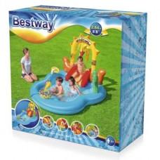 حوض سباحة اطفال قابل للنفخ  - 2.64 × 1.88 × 1.40 سم