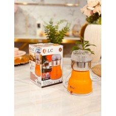 طاحونة قهوة دي ال سي مطحنة قهوة 200 وات DLC-CG5252 فضي / برتقالي
