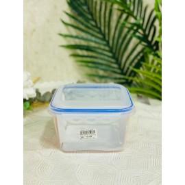 حافظة طعام بلاستيك مربع _ 16*16 سم
